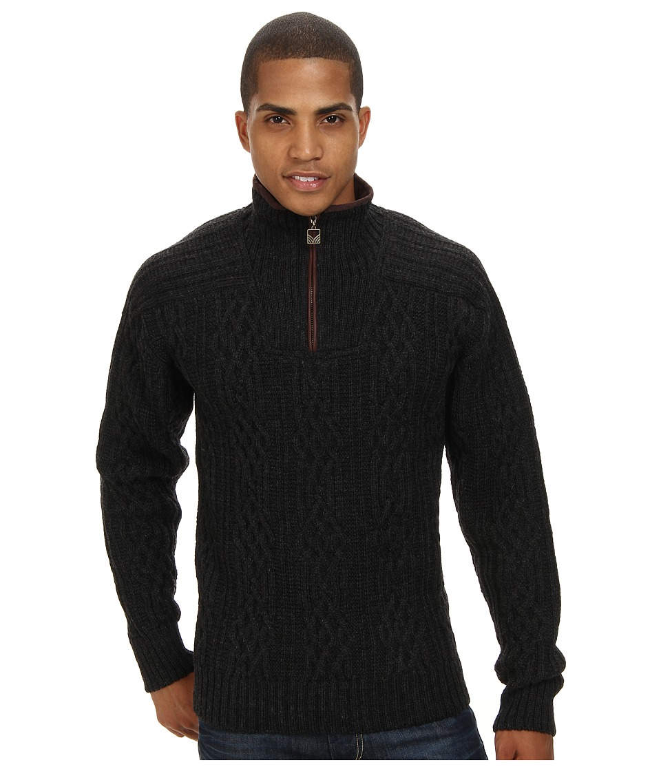 Dale of Norway - Henningsv r (T-Dark Charcoal) Men's Sweater