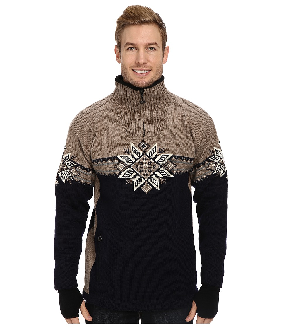 Dale of Norway - Lyngen WP (C-Navy/Mountainstone/Cream/Smoke) Men's Sweater