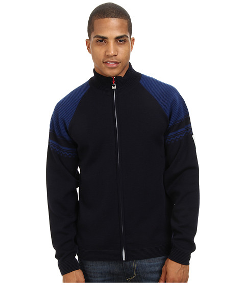 Dale of Norway - Beito Jacket (C-Navy/Raspberry/Off White) Men's Jacket