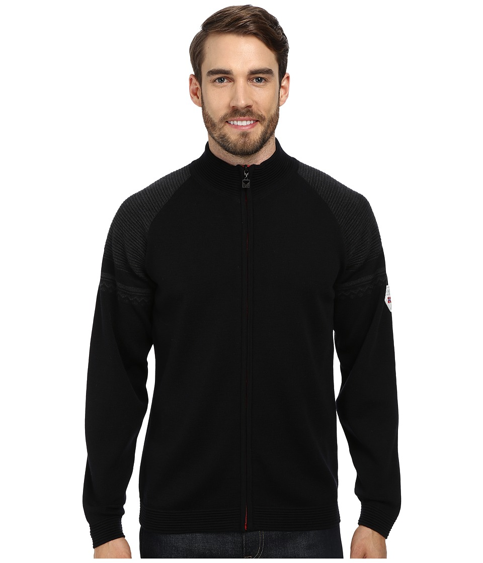 Dale of Norway Beito Jacket (F-Black/Dark Charcoal) Men
