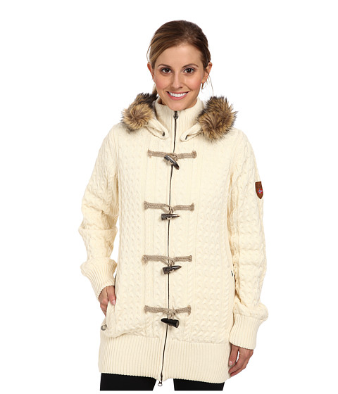 Dale of Norway - Svolv r (Off White) Women's Coat