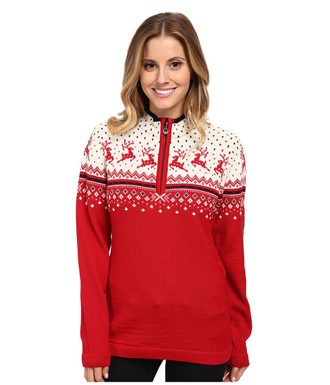 Dale of Norway - Tuva (Raspberry/Off White/Navy) Women's Sweater