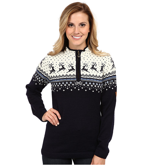 Dale of Norway - Tuva (Navy/Off White/Blue Shadow) Women's Sweater