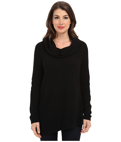 Vince Camuto - L/S Cowl Neck Sweater (Rich Black) Women