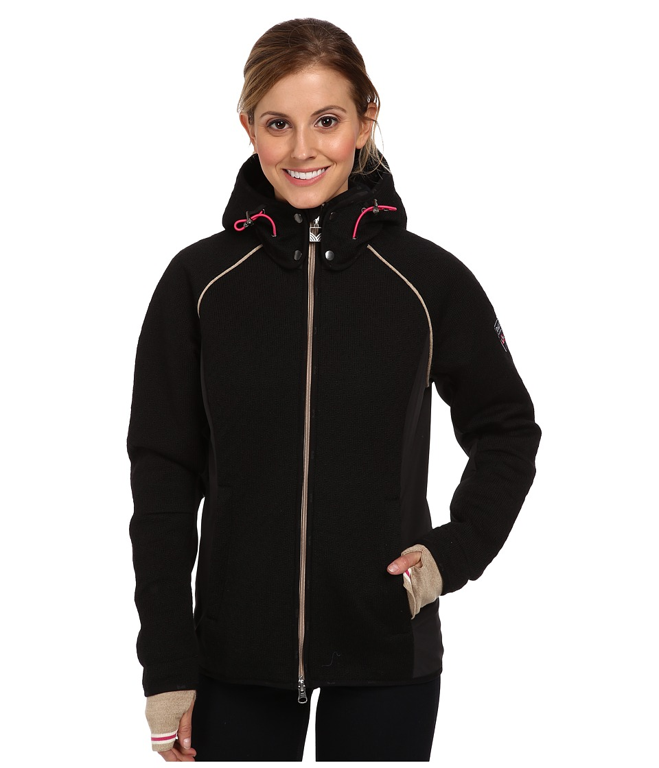 Dale of Norway - Norefjell Feminine Jacket (Black/Sand/Off White) Women's Coat