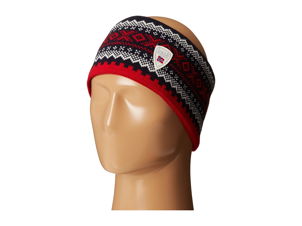 Dale of Norway - Kongsvollen Headband (Navy/Off White/Raspberry) Headband