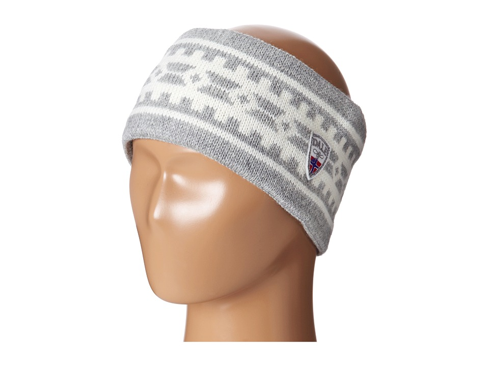 Dale of Norway - Alpina Headband (Light Charcoal/Cream) Headband