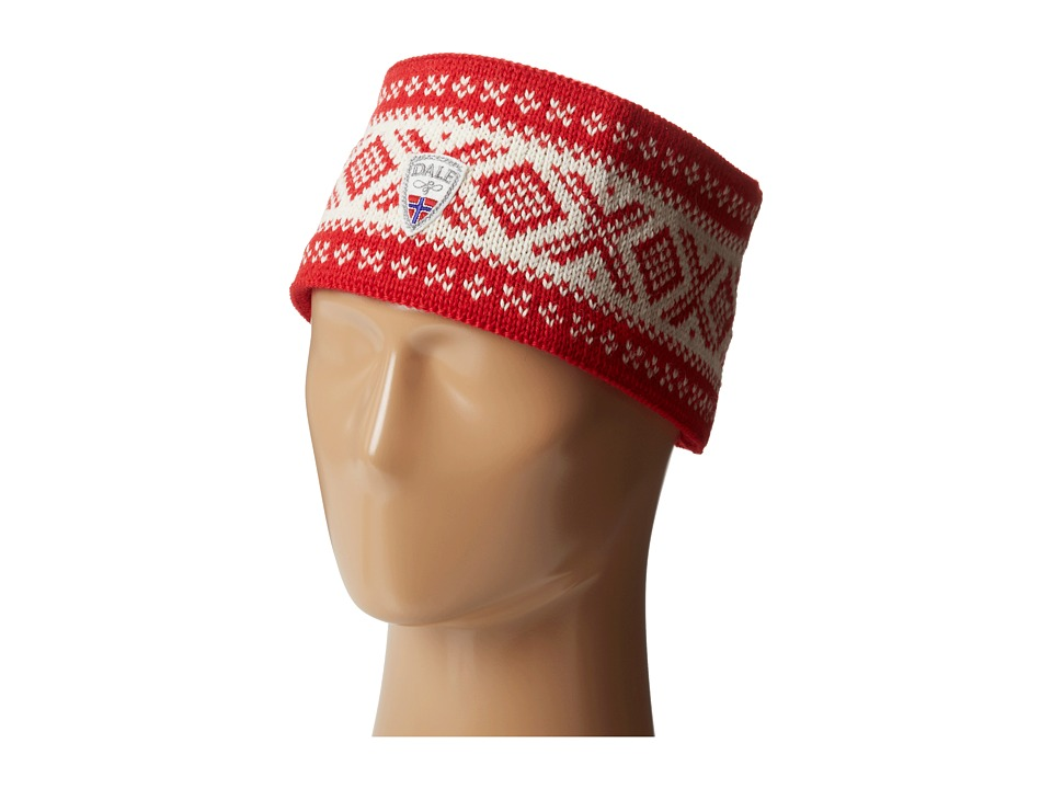 Dale of Norway - Cortina 1956 Headband (Raspberry/Off White) Headband