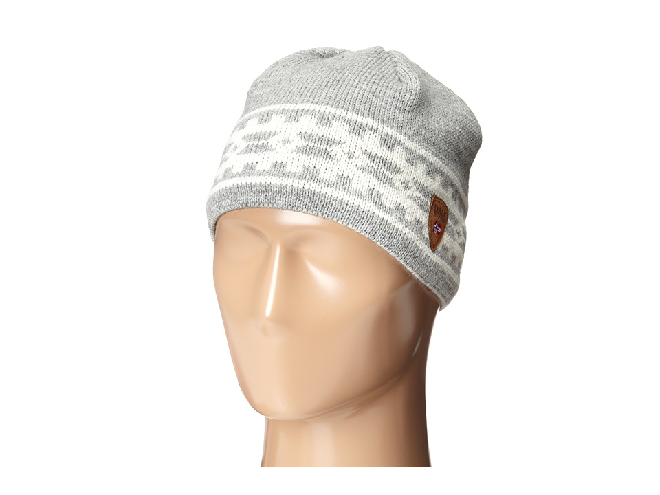 Dale of Norway - Alpina Hat (Light Charcoal/Cream) Knit Hats