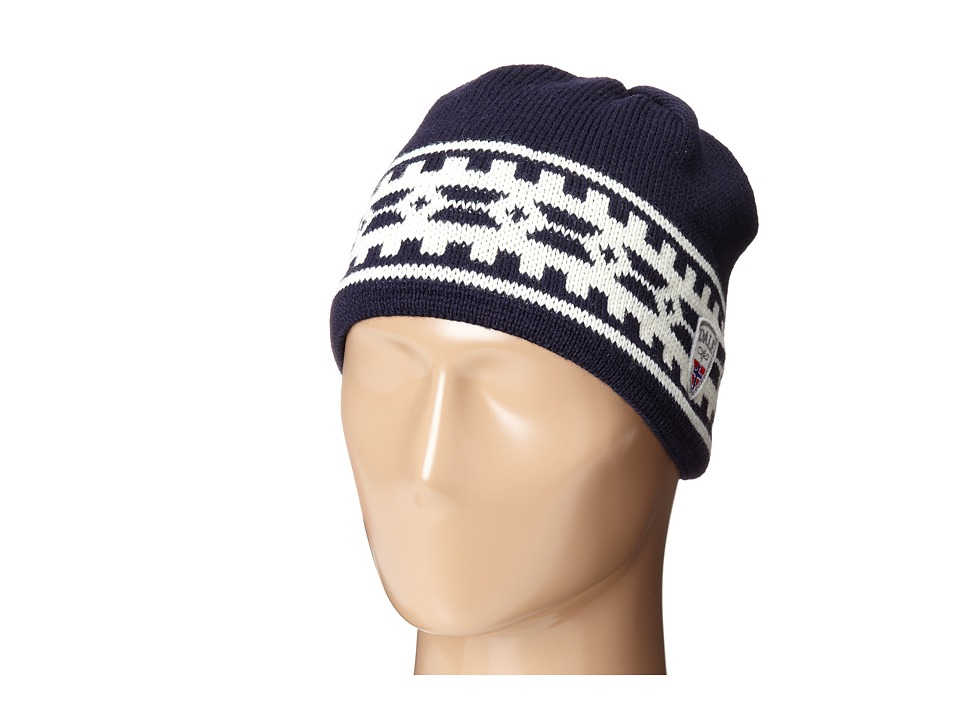 Dale of Norway - Alpina Hat (Navy/Cream) Knit Hats