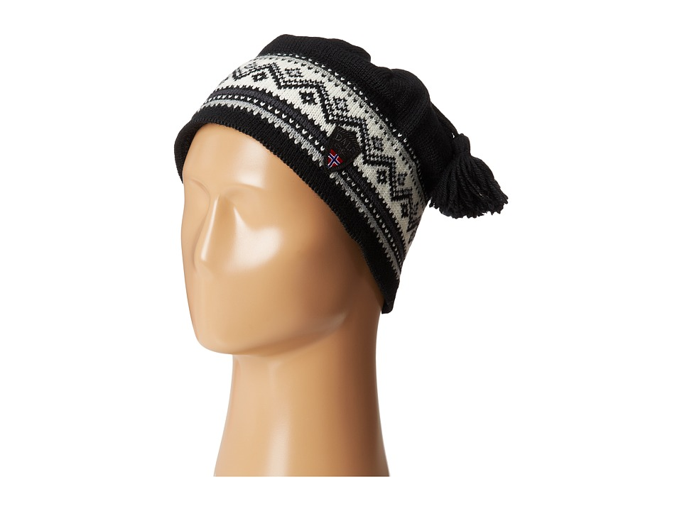 Dale of Norway - Vail Hat (Black/Dark Grey/Metal) Knit Hats