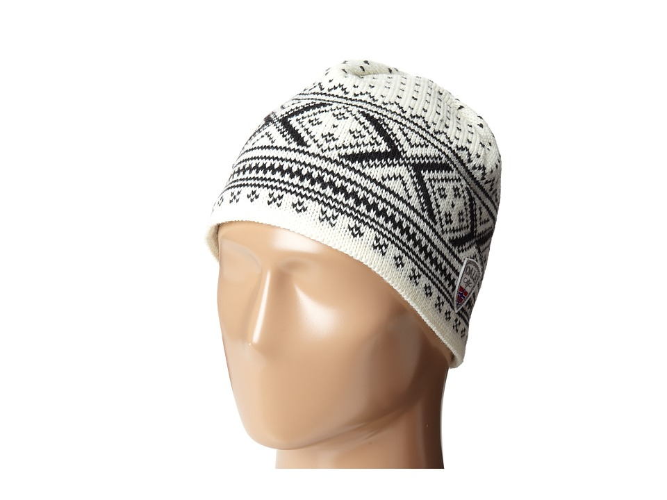 Dale of Norway - Vintage Hat (Off White/Black) Knit Hats
