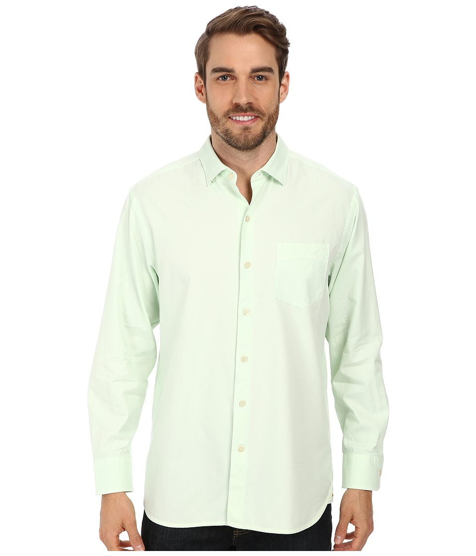 Tommy Bahama - Island Twill L/S Button Up (Light Honeydew Green) Men