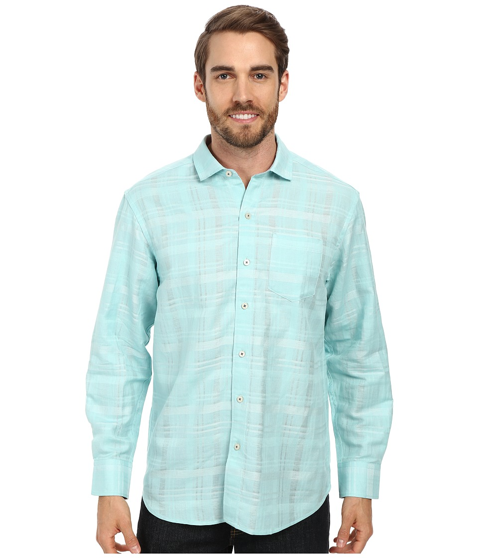 Tommy Bahama - Squarely There L/S Button Up (Lawn Chair) Men's Long Sleeve Button Up