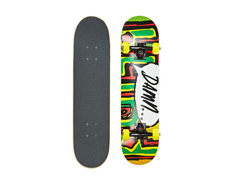 Blind - OG Damn Bubble Mini Complete (Rasta) Skateboards Sports Equipment