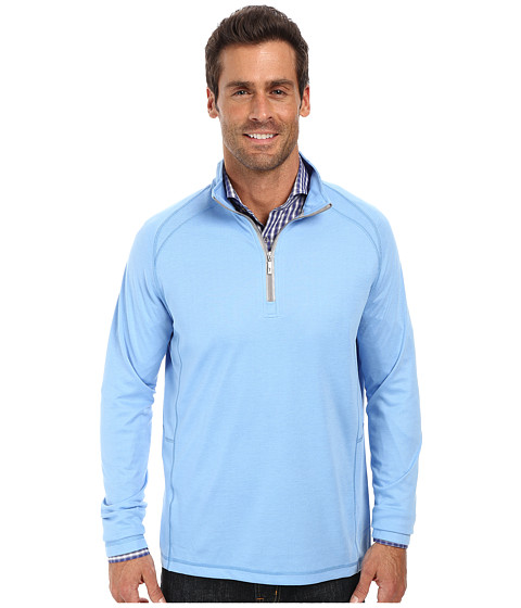 Tommy Bahama - New Firewall Half Zip Sweatshirt (New Breaker) Men