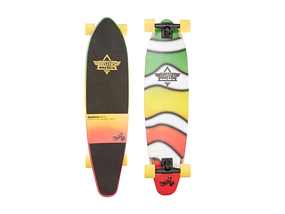 Dusters - Demo (Rasta Fade) Skateboards Sports Equipment