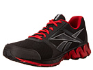 Reebok ZigKick Alpha (Black/Pure Silver/Excellent Red/White) Men's Shoes
