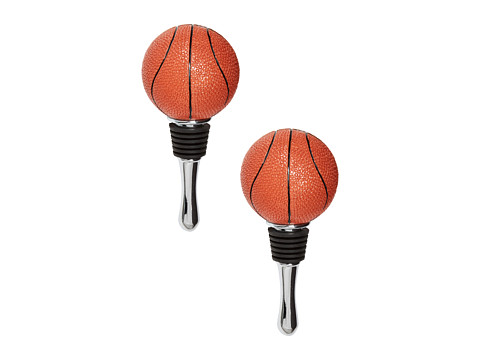 Oenophilia - Set of 2 Basketball Stoppers (Multi) Individual Pieces Cookware