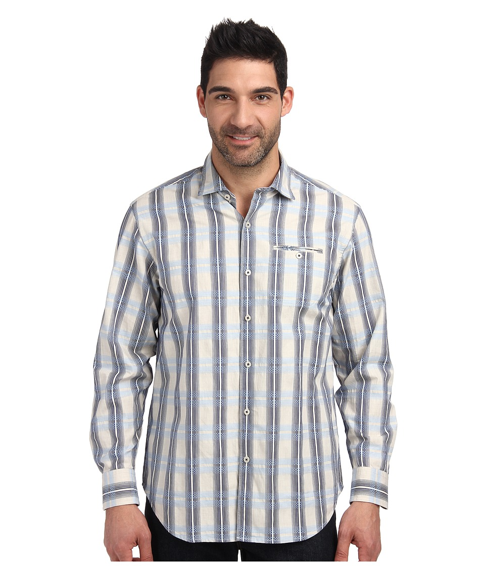 Tommy Bahama - Island Weaver L/S Button Up (Chambray 2) Men