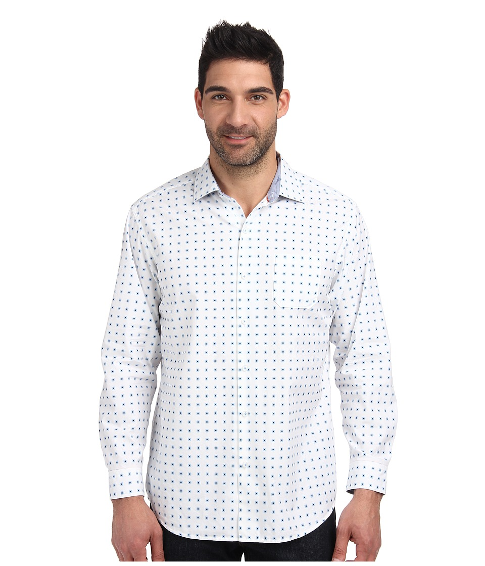 Tommy Bahama - Oliver Squared L/S Button Up (White) Men
