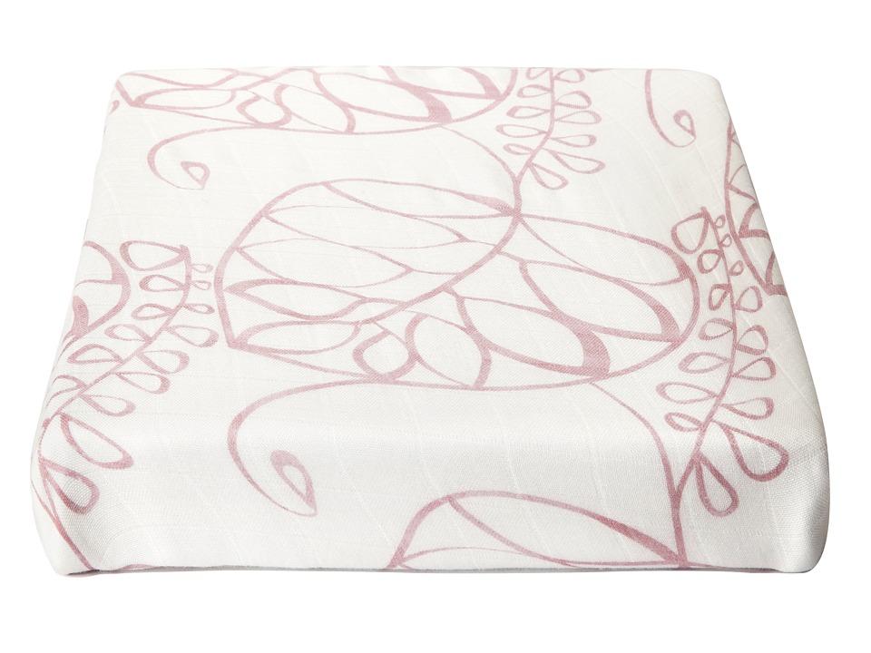 aden + anais - Bamboo Crib Sheet (Tranquility - Leafy) Sheets Bedding