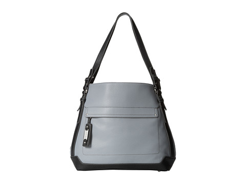 Nine West - Hidzip Tote Large (Grey/Black) Shoulder Handbags