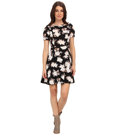 BB Dakota - Reena Dress (Black) Women's Dress