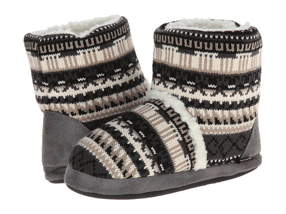 MUK LUKS - Sherpa Boot (Crazy Fair Isle Neutral) Women's Boots