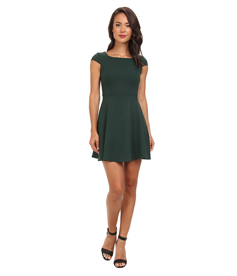 French Connection - Whisper Ruth 71CJS (Pine) Women's Clothing