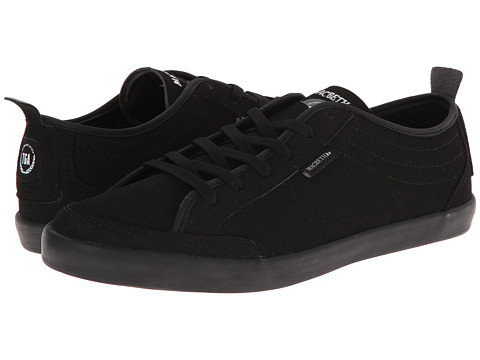 Macbeth - Reed Lo-Fi (Gaslight Anthem Studio Project) (Black/Black Synthetic Nubuck) Men's Shoes