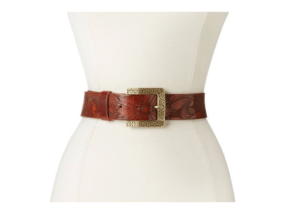 Leatherock - 1102 (Brown Laser) Women's Belts