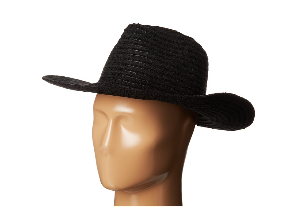 Jessica Simpson - Sequin Floppy (Black 1) Traditional Hats