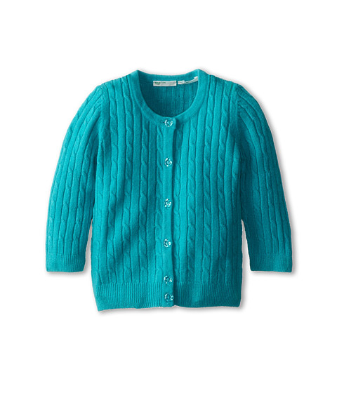 United Colors of Benetton Kids - L/S Sweater 12EGC517N (Infant) (02L Teal) Girl