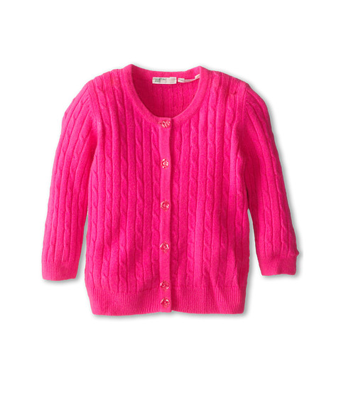 United Colors of Benetton Kids - L/S Sweater 12EGC517N (Infant) (40F Hot Pink) Girl