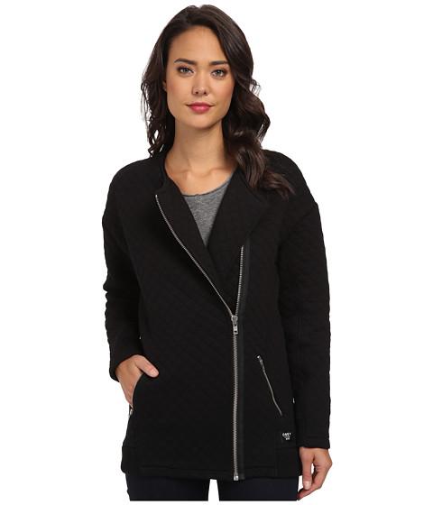 Obey - Condor Quilted Zip Jacket (Black) Women's Coat