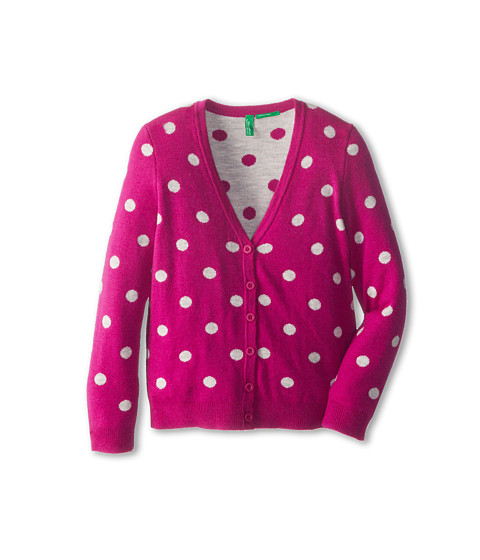 United Colors of Benetton Kids - L/S Cardigan 14CRC6041 (Toddler/Little Kids/Big Kids) (901 Multi) Girl's Sweater