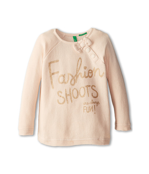 United Colors of Benetton Kids - Sweater L/S 3HJ4C10TP (Toddler) (32B Taupe) Girl's Sweater
