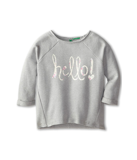 United Colors of Benetton Kids - Sweater Sleeves 3/4 3GW0C112M (Toddler/Little Kids/Big Kids) (901 Multi) Girl
