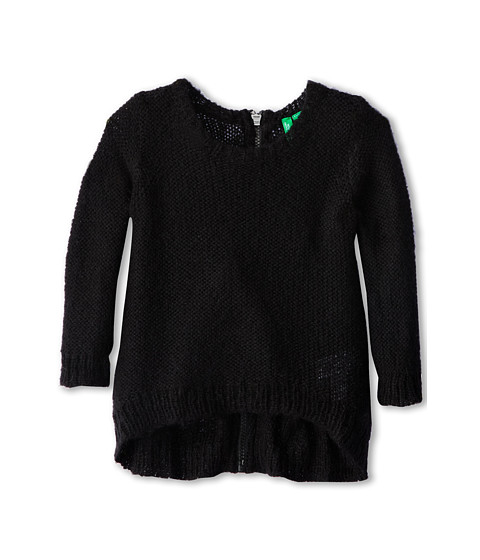 United Colors of Benetton Kids - Sweater L/S 13EFC1073 (Toddler/Little Kids/Big Kids) (100 Black) Girl's Sweater