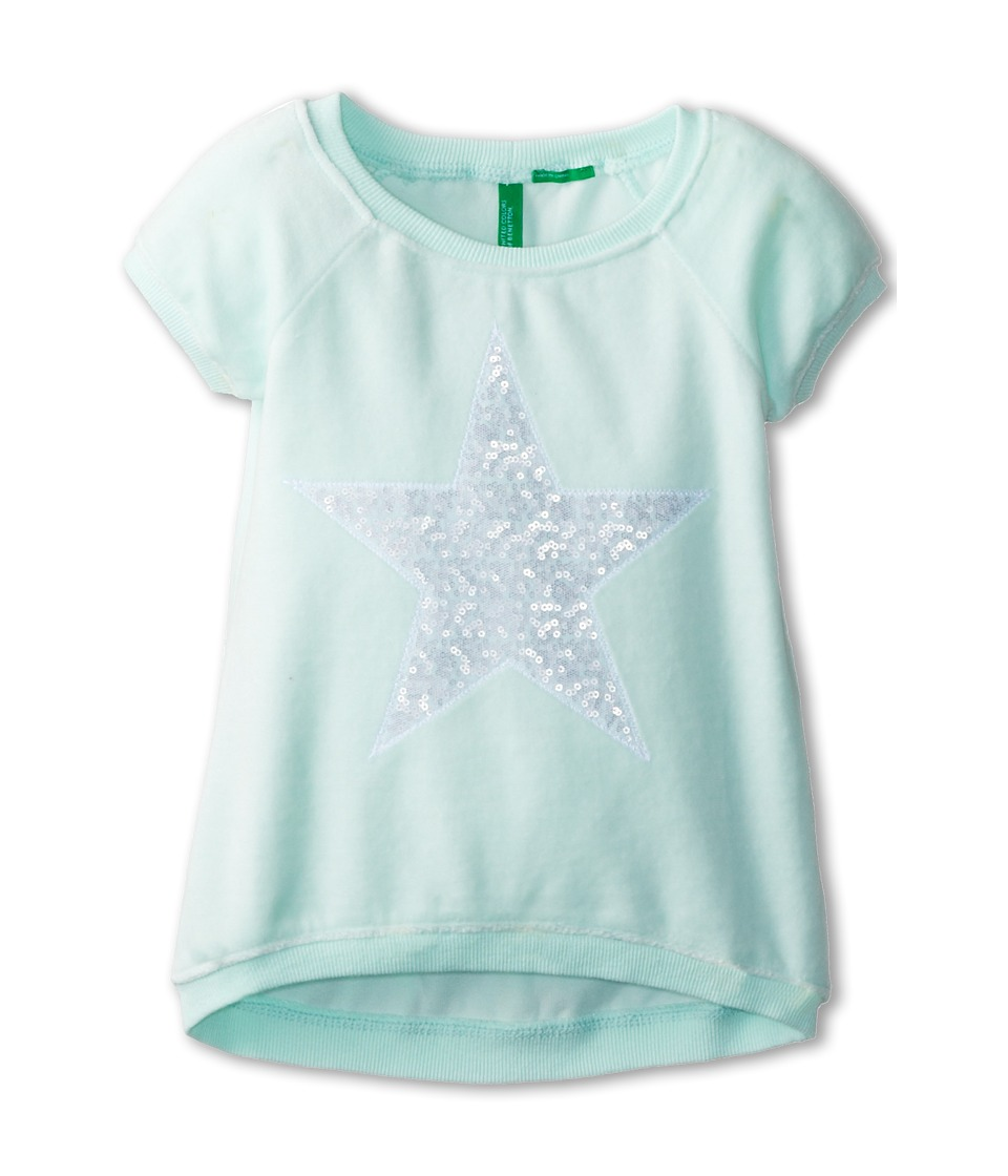 United Colors of Benetton Kids - Sweater H/S 3UK0C1103 (Toddler/Little Kids/Big Kids) (901 Multi) Girl's Short Sleeve Pullover