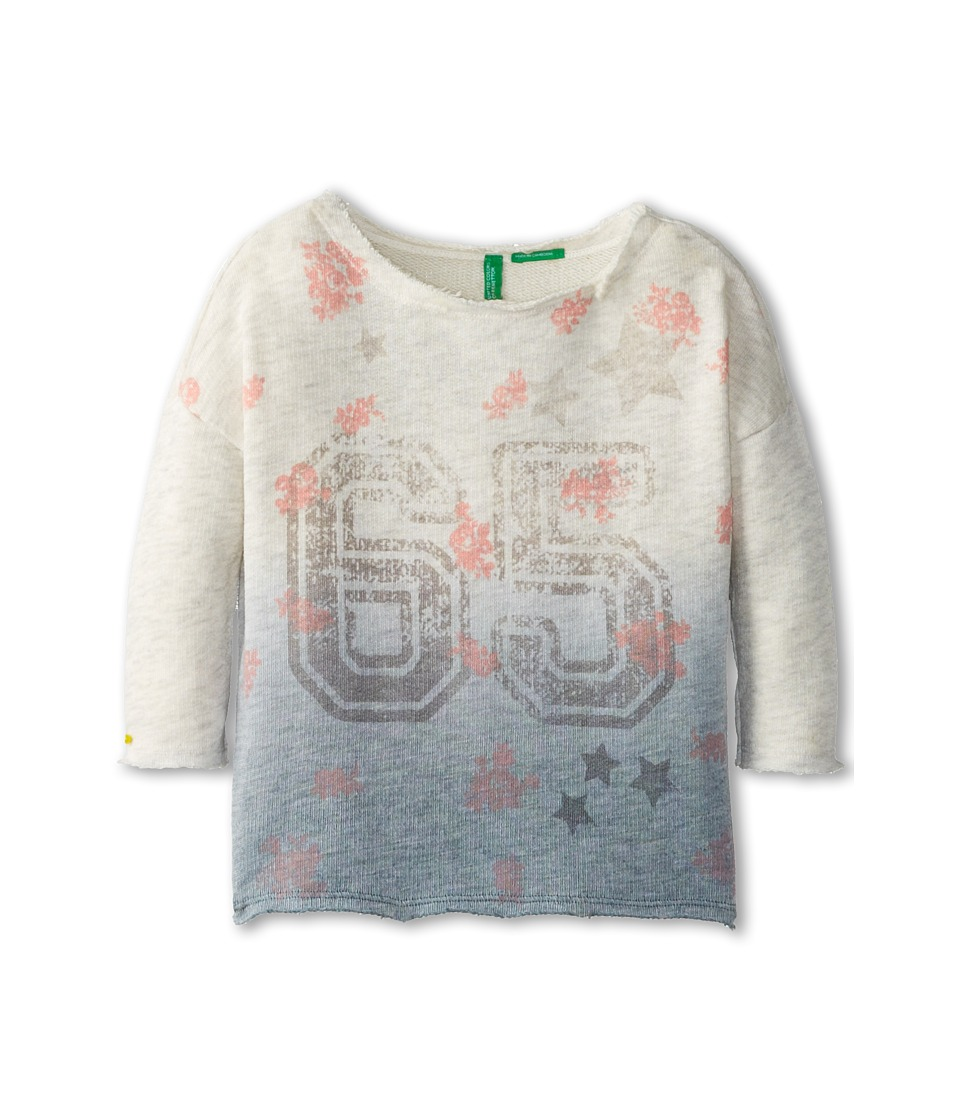 United Colors of Benetton Kids - Sweater L/S 3GI5C1106 (Toddler/Little Kids/Big Kids) (901 Multi) Girl's Sweater