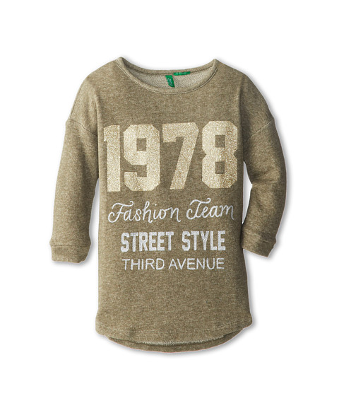 United Colors of Benetton Kids - Sweater L/S 3HJ4F1171 (Toddler/Little Kids/Big Kids) (902 Multi) Girl's Long Sleeve Pullover