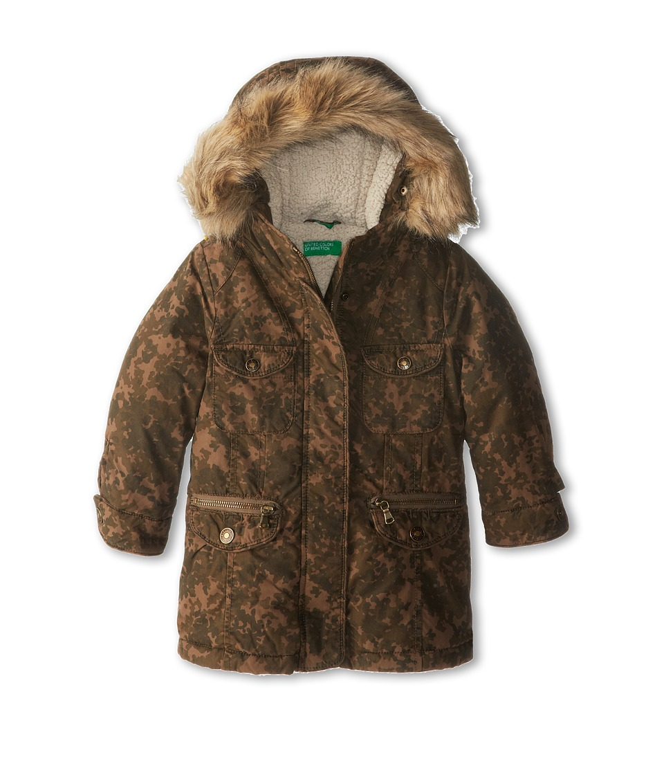 United Colors of Benetton Kids - Heavy Jacket 2JP853530 (Toddler/Little Kids/Big Kids) (901 Multi) Girl's Coat