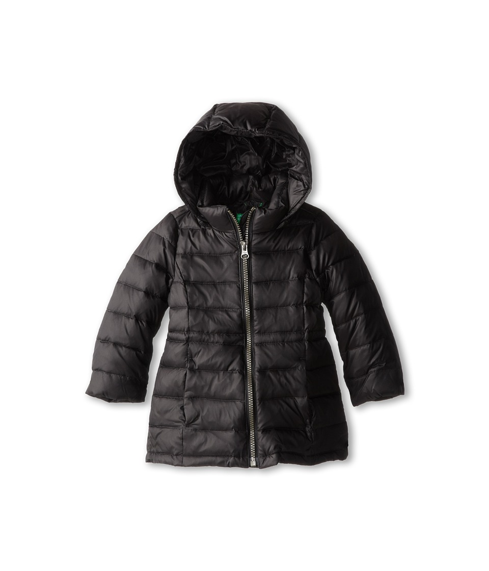 United Colors of Benetton Kids - Heavy Jacket 2RQ45K020 (Toddler/Little Kids/Big Kids) (100 Black) Girl's Coat