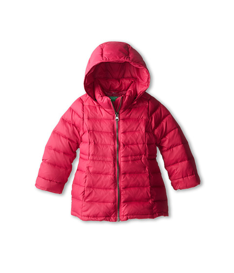 United Colors of Benetton Kids - Heavy Jacket 2RQ45K020 (Toddler/Little Kids/Big Kids) (36Z Hot Pink) Girl