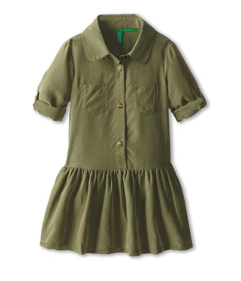 United Colors of Benetton Kids - Dress 4AU75V0I0 (Toddler/Little Kids/Big Kids) (07N Army Green) Girl's Dress