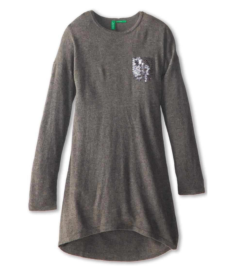 United Colors of Benetton Kids - Dress 10PFF1122 (Toddler/Little Kids/Big Kids) (Dark Grey) Girl's Dress