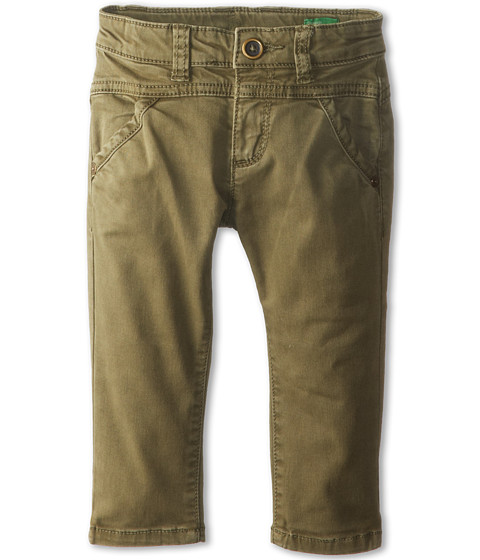 United Colors of Benetton Kids - Trousers 4DW1577G0 (Toddler/Little Kids/Big Kids) (79A Army Green) Girl's Casual Pants
