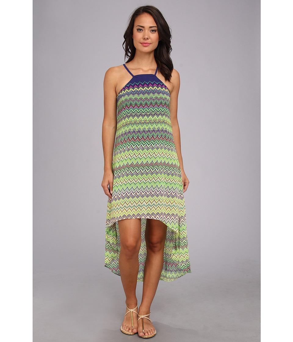 KAS New York - Anthovia High Low Dress (Multi) Women